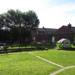 child care North Belfast - outside play area